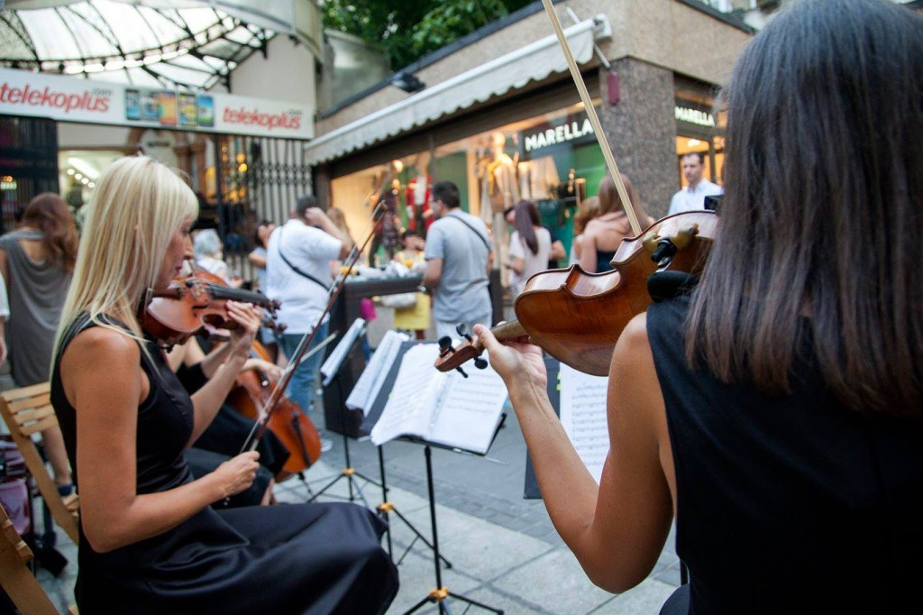 otvaranje butika marella beograd muzika kvartet