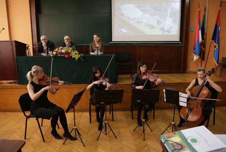 Wonder Strings kvartet jubilej fakulteta rudarsko geološki