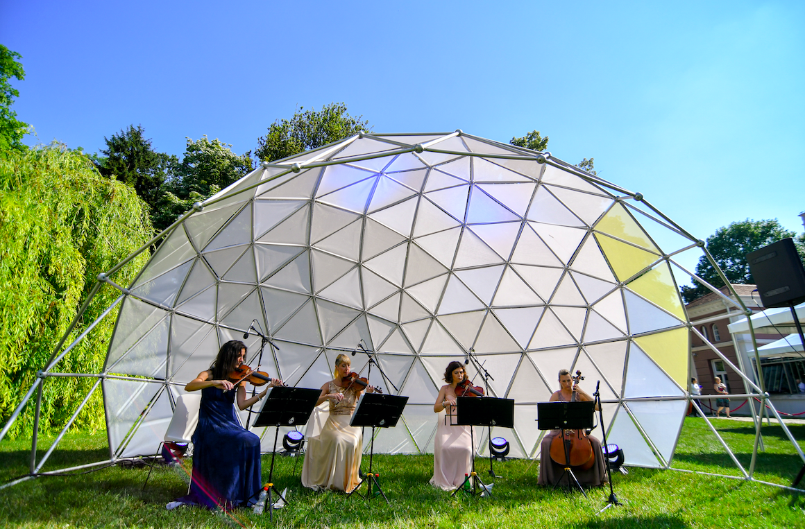 obeležen svetski dan zaštite životne sredine 2018 kvartet wonder strings svirka uživo botanička bašta