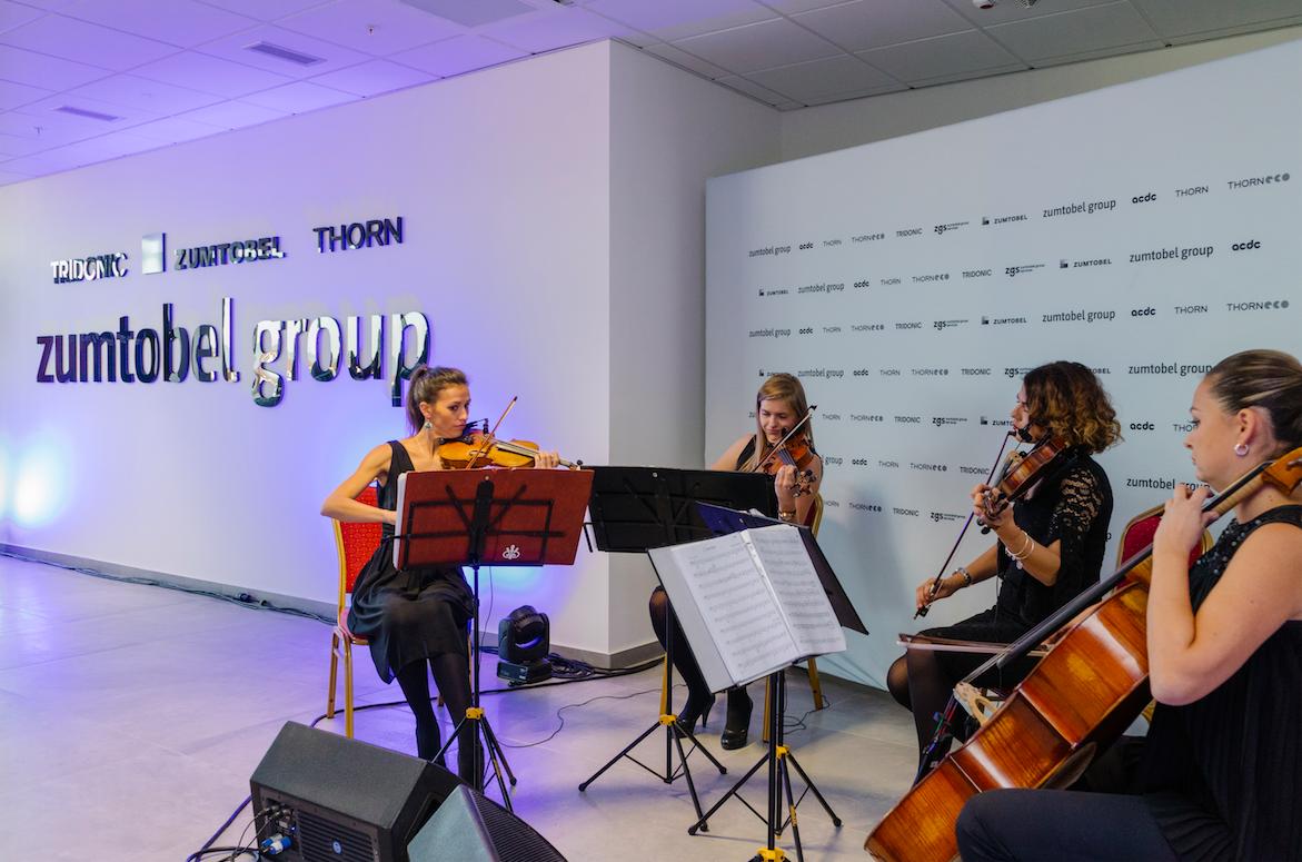 Cumbotel otvaranje wonder strings kvartet