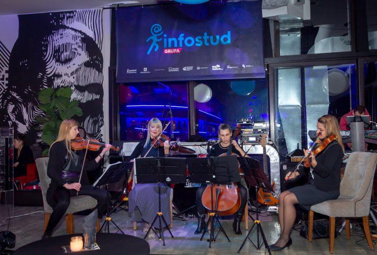 jubilej 18 godina firme kompanije wonder strings kvartet infostud subotica