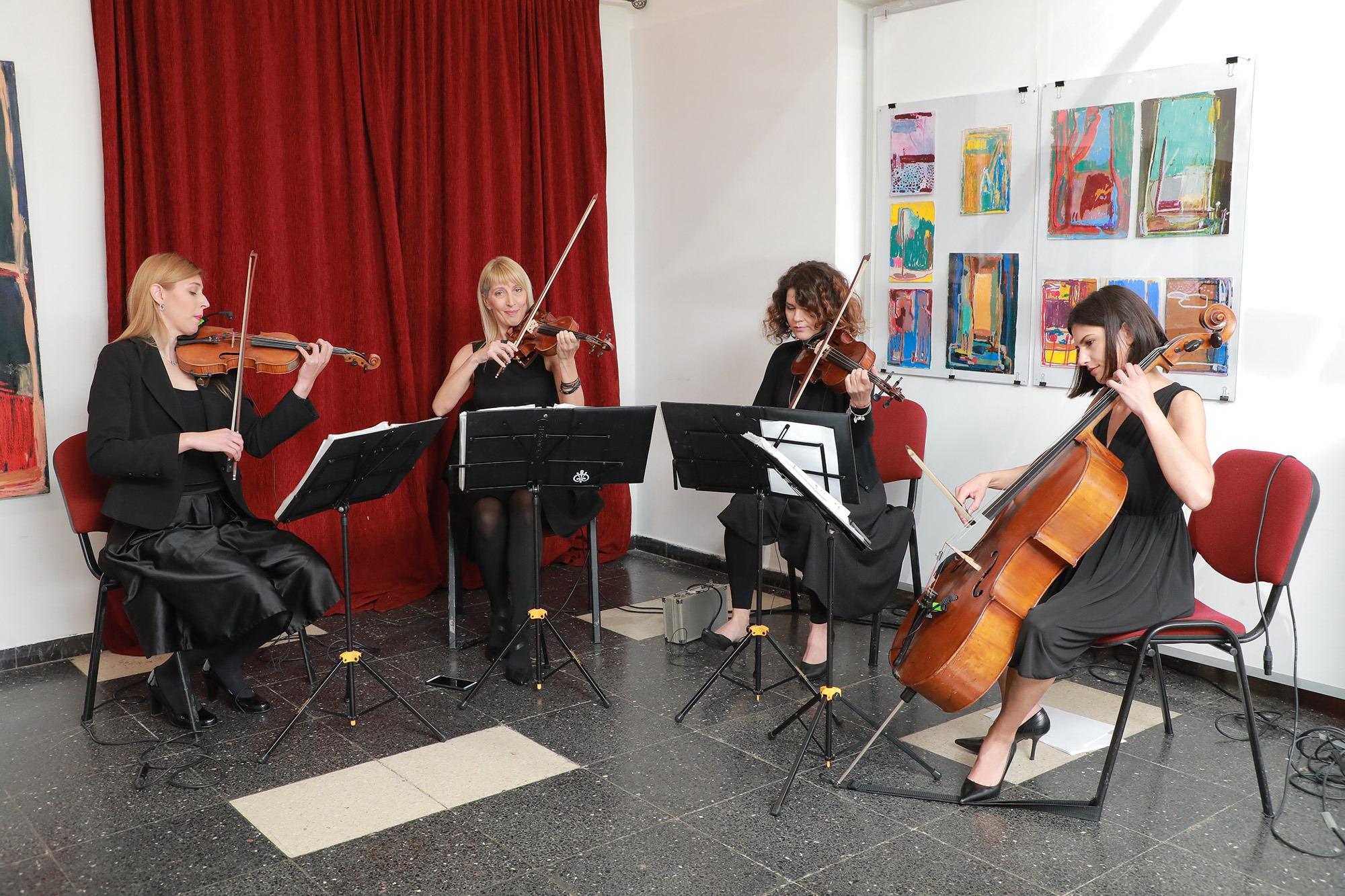 Wonder Strings kvartet Rakovica centar za kulturu slava ćirilo i metodije