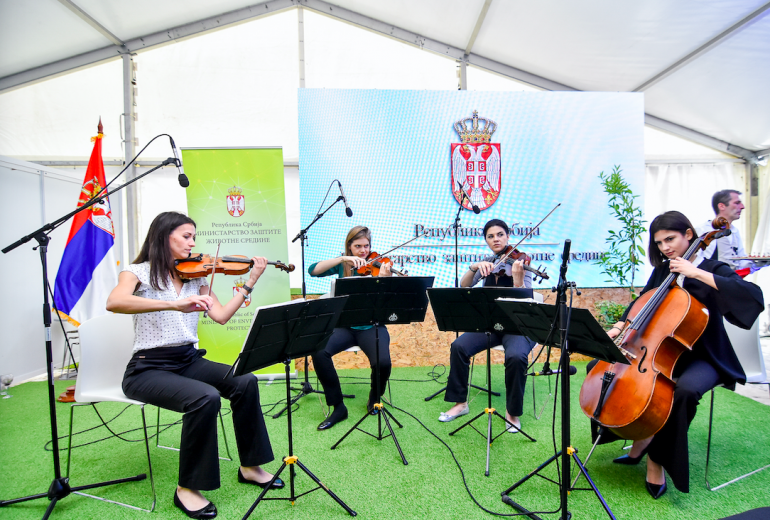 Svetski dan zaštite životne sredine 2019 kvartet wonder strings